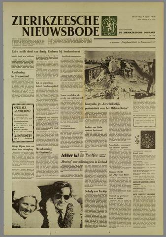 Zierikzeesche Nieuwsbode 1970-04-09