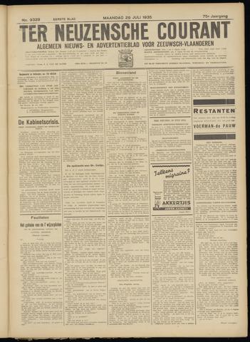 Ter Neuzensche Courant. Algemeen Nieuws- en Advertentieblad voor Zeeuwsch-Vlaanderen / Neuzensche Courant ... (idem) / (Algemeen) nieuws en advertentieblad voor Zeeuwsch-Vlaanderen 1935-07-29