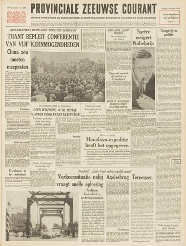 Provinciale Zeeuwse Courant 1964-10-23