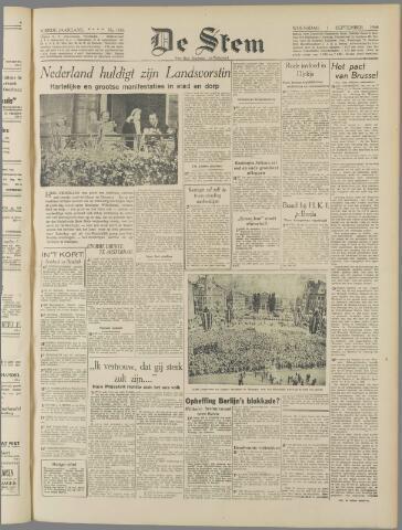 de Stem 1948-09-01