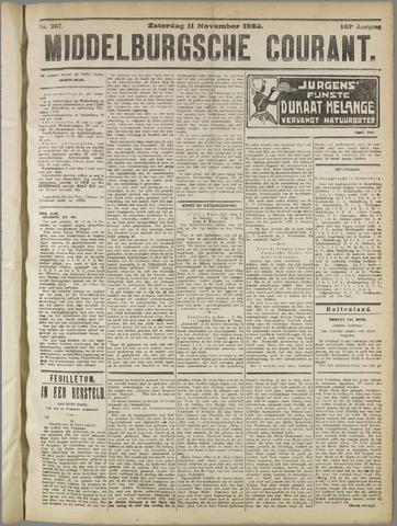 Middelburgsche Courant 1922-11-11
