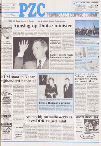 Provinciale Zeeuwse Courant 1990-10-13