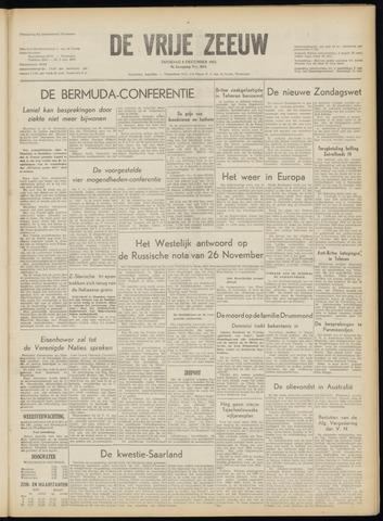 de Vrije Zeeuw 1953-12-08
