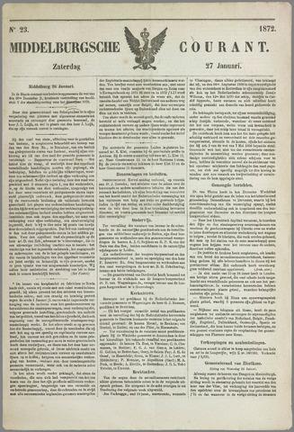 Middelburgsche Courant 1872-01-27