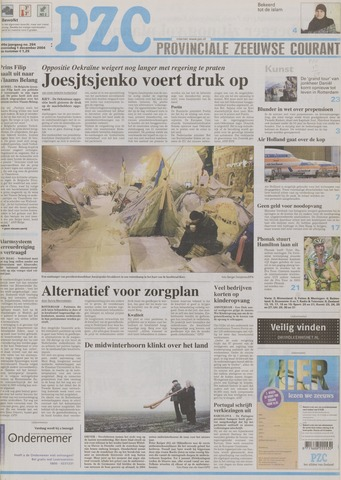 Provinciale Zeeuwse Courant 2004-12-01