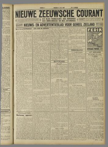 Nieuwe Zeeuwsche Courant 1927-07-12