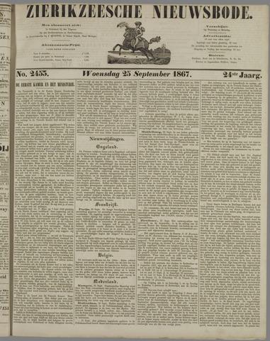 Zierikzeesche Nieuwsbode 1867-09-25