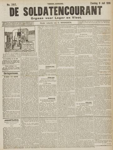 De Soldatencourant. Orgaan voor Leger en Vloot 1916-07-09