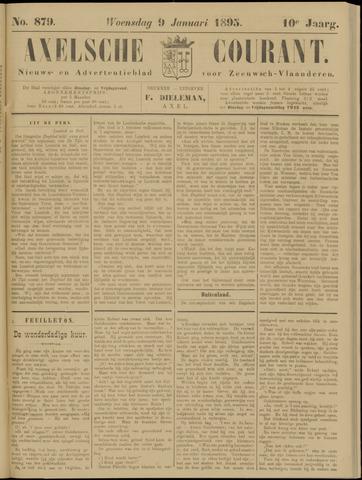 Axelsche Courant 1895-01-09