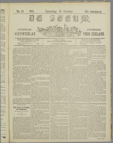De Zeeuw. Christelijk-historisch nieuwsblad voor Zeeland 1911-10-14