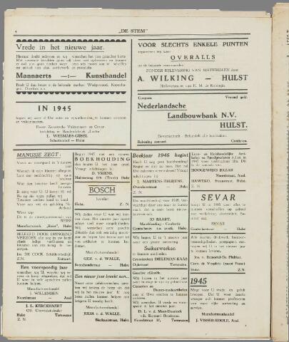 de Stem 1945