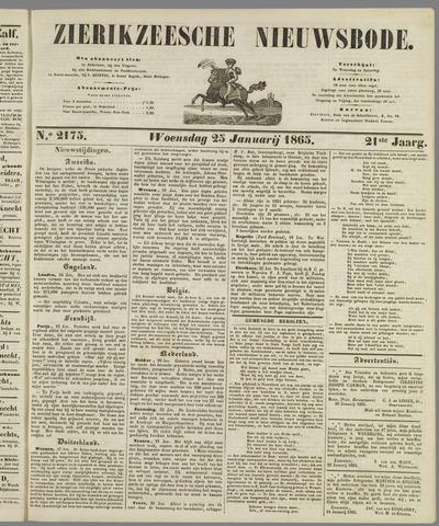 Zierikzeesche Nieuwsbode 1865-01-25