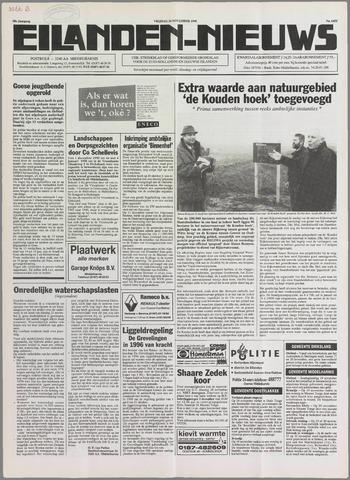Eilanden-nieuws. Christelijk streekblad op gereformeerde grondslag 1995-11-24