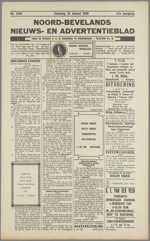 Noord-Bevelands Nieuws- en advertentieblad 1936-01-25