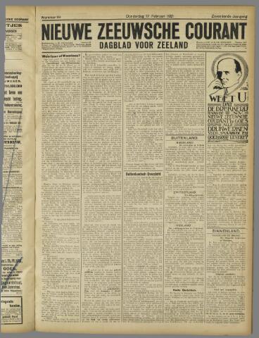 Nieuwe Zeeuwsche Courant 1921-02-17