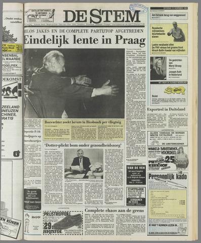 de Stem 1989-11-25