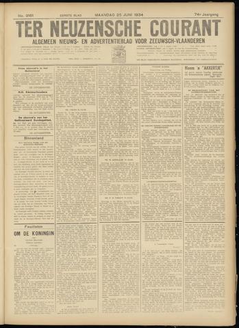 Ter Neuzensche Courant. Algemeen Nieuws- en Advertentieblad voor Zeeuwsch-Vlaanderen / Neuzensche Courant ... (idem) / (Algemeen) nieuws en advertentieblad voor Zeeuwsch-Vlaanderen 1934-06-25