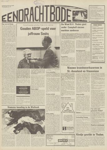 Eendrachtbode (1945-heden)/Mededeelingenblad voor het eiland Tholen (1944/45) 1979-02-08