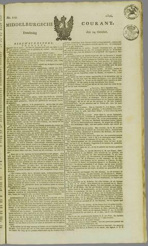 Middelburgsche Courant 1824-10-14