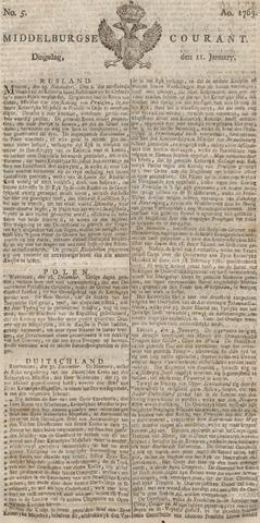 Middelburgsche Courant 1763-01-11