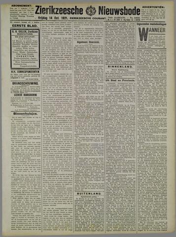 Zierikzeesche Nieuwsbode 1921-10-14