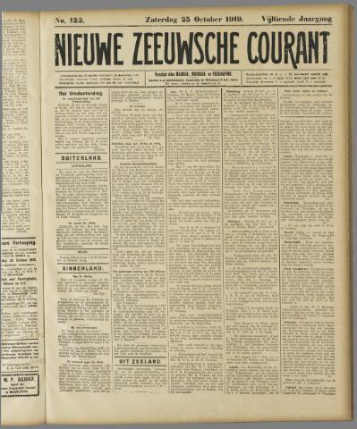 Nieuwe Zeeuwsche Courant 1919-10-25