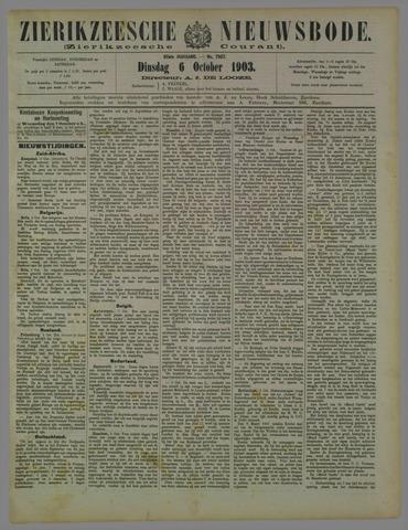 Zierikzeesche Nieuwsbode 1903-10-06
