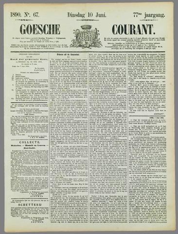 Goessche Courant 1890-06-10