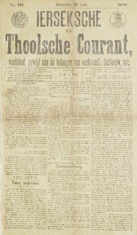 Ierseksche en Thoolsche Courant 1889-07-27