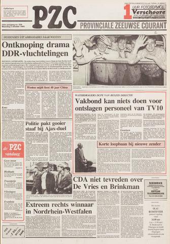 Provinciale Zeeuwse Courant 1989-10-02
