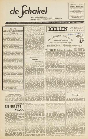 De Schakel 1965-02-12