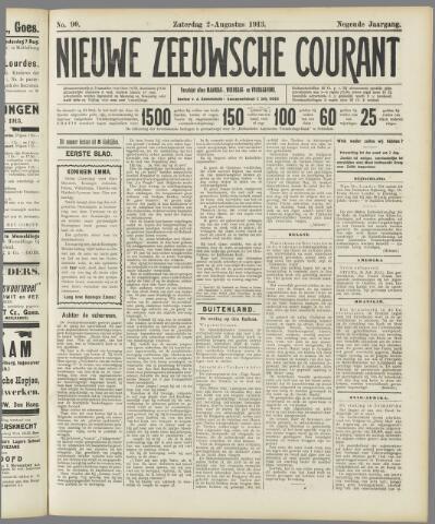 Nieuwe Zeeuwsche Courant 1913-08-02