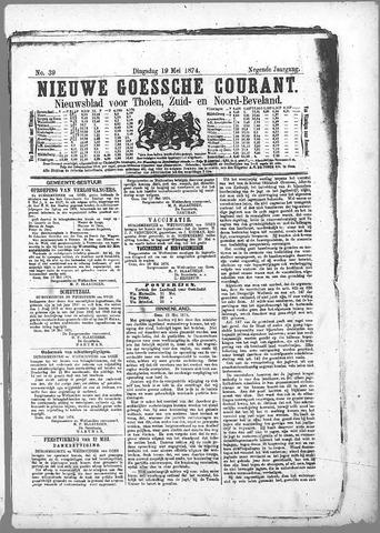 Nieuwe Goessche Courant 1874-05-19