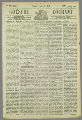 Goessche Courant 1915-07-15