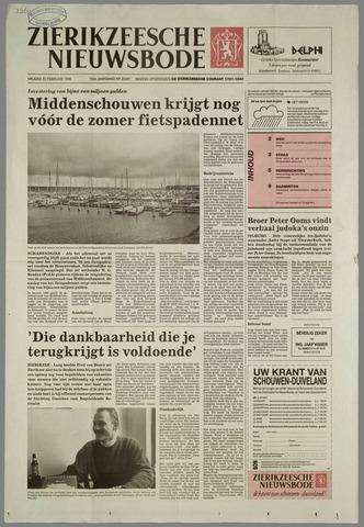 Zierikzeesche Nieuwsbode 1996-02-23