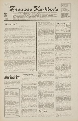 Zeeuwsche kerkbode, weekblad gewijd aan de belangen der gereformeerde kerken/ Zeeuwsch kerkblad 1968-03-07