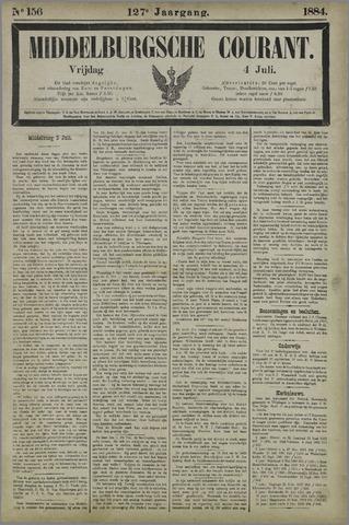 Middelburgsche Courant 1884-07-04
