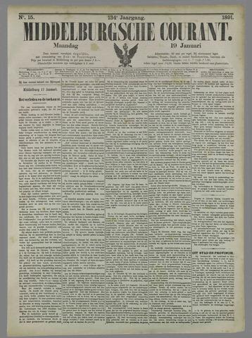 Middelburgsche Courant 1891-01-19