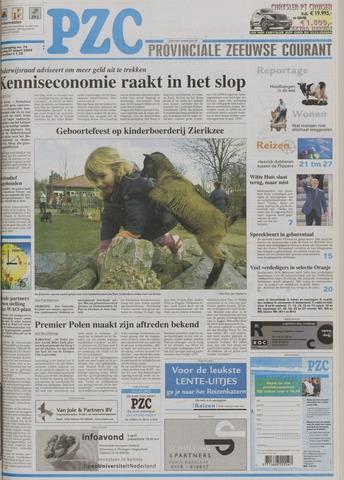 Provinciale Zeeuwse Courant 2004-03-27