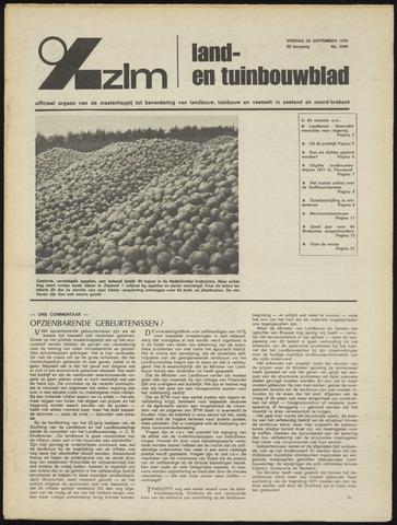 Zeeuwsch landbouwblad ... ZLM land- en tuinbouwblad 1970-09-23