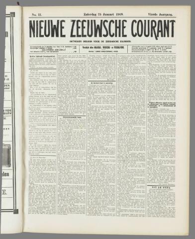 Nieuwe Zeeuwsche Courant 1908-01-25