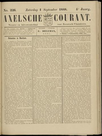 Axelsche Courant 1888-09-01