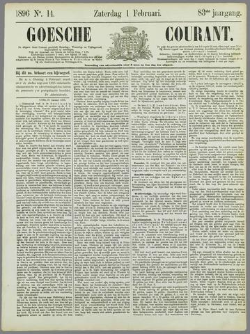 Goessche Courant 1896-02-01