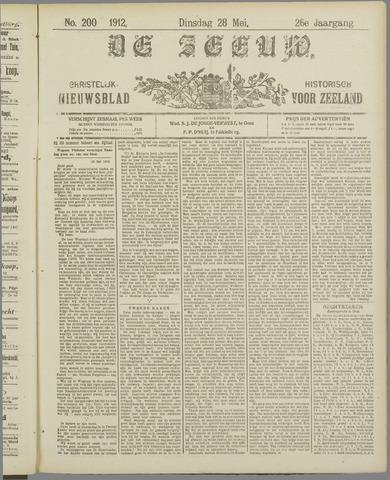 De Zeeuw. Christelijk-historisch nieuwsblad voor Zeeland 1912-05-28
