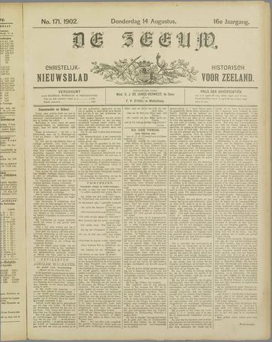 De Zeeuw. Christelijk-historisch nieuwsblad voor Zeeland 1902-08-14
