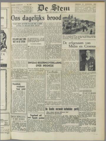 de Stem 1947-08-22