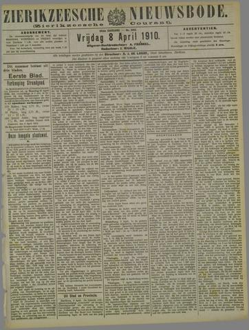 Zierikzeesche Nieuwsbode 1910-04-08