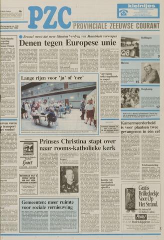 Provinciale Zeeuwse Courant 1992-06-03