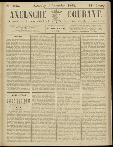 Axelsche Courant 1895-11-09