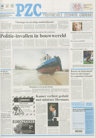 Provinciale Zeeuwse Courant 2002-03-20